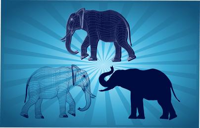 Gráficos de elefante