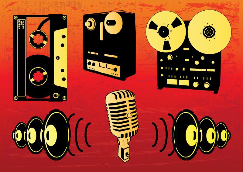 Conjunto de vectores de música