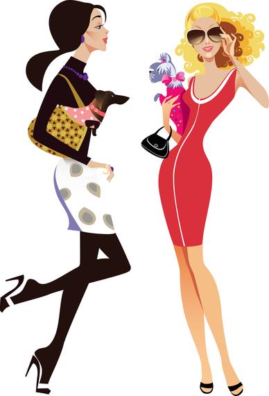 female fashion illustrator 01 vector vector download rh vexels com Fashion Illustration Vector fashion girl vector png