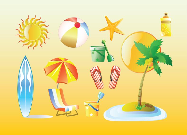 Summer Graphics - Vector Picker