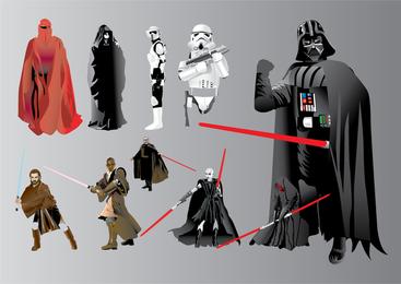Ilustrações de Star Wars