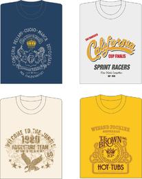 4 Vector T Shirt Designs