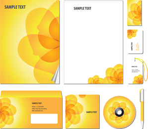 The Trend Of Packaging Cover Design 01 Vector