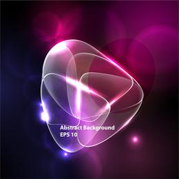 Brilhante néon efeitos 04 vector