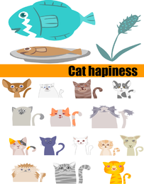 Meow Blank Vector