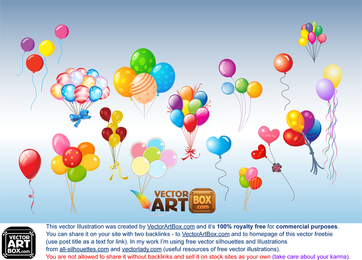Luftballons ClipArt