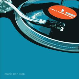 DJ-Musik-Vektoren