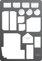 Stationery Vector Set