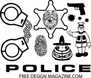 Polizei-Vektoren 2