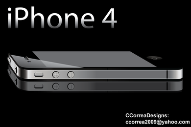 Iphone 4 Vector 3