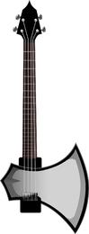 Guitarra Free Vector Pack diferente forma