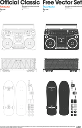 Official Classic Free Vector Set 1