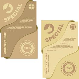 Special Card Vector