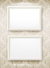 Vector de marco en blanco 2
