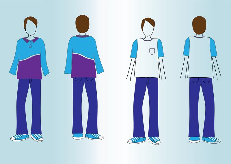 T Shirt Mockup Vectors