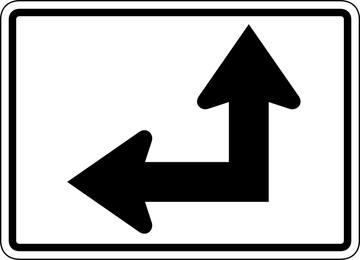 Placa de sinal Vector 494