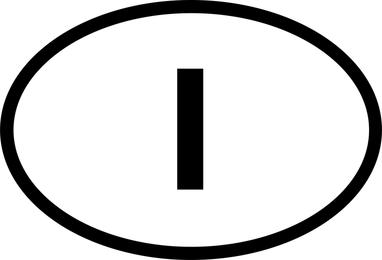 Placa de sinal Vector 353