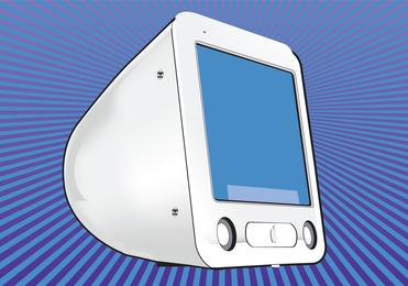 Pantalla de la computadora mac