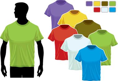 T-Shirt Vorlage 02 Vektor