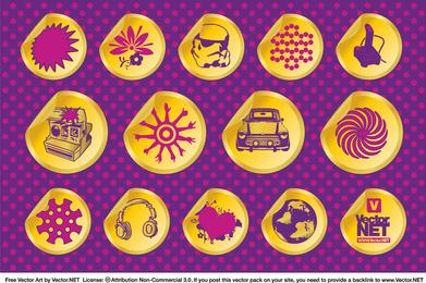 Emblemas de Design Vector