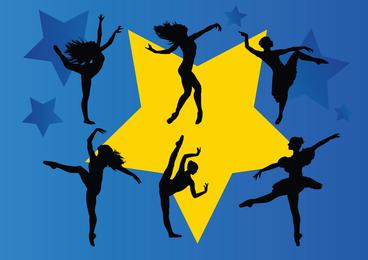 Estrellas del baile