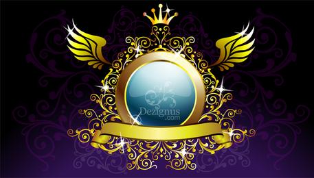 Escudo de oro de la decoración