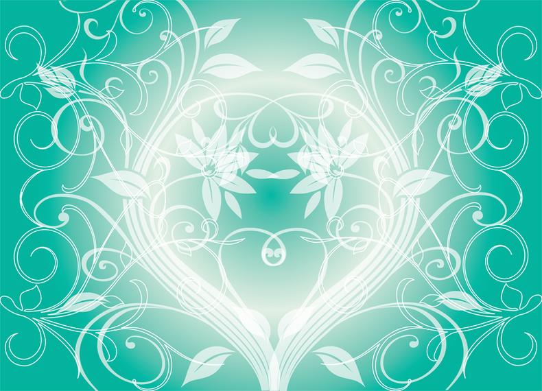 Swirly Green Vector