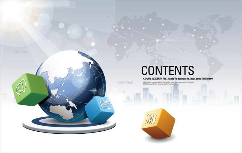 Criativo cubo seta Vector 3 negócios cartazes