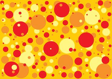 Roter orange gelber Fleck