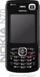 Realistic Nokia N70 Black Edition