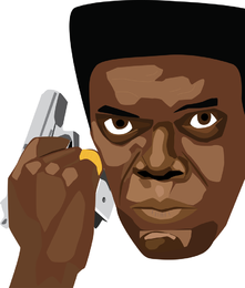 Samuel L Jackson Illustration