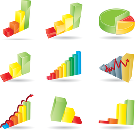 Statistics Theme Vector 2