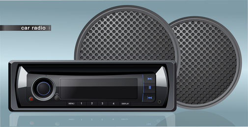 Car Audio Vector 3
