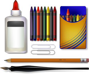 Stationery Vector 6