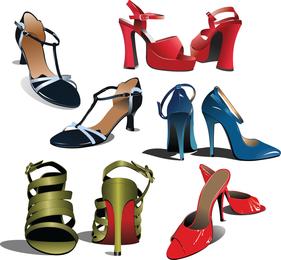 Vector de zapato