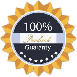 Free Vector Guaranty Tag