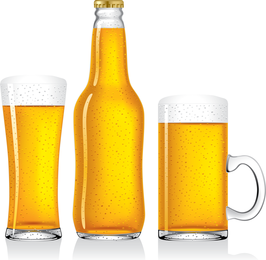Empty Beer Vector