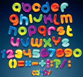 The Creative Letters Designed 02 Vector 2