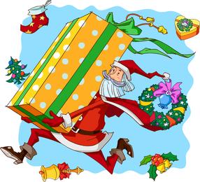 Santa Claus Vector 1