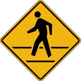 Placa de sinal vector 529