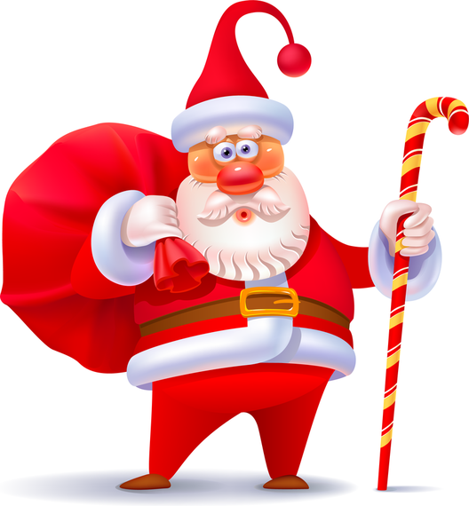 Vector Cute Santa Claus 3