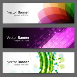 The Gorgeous Strip Card 02 Vector