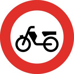 Vector de tablero de zona de bicicleta