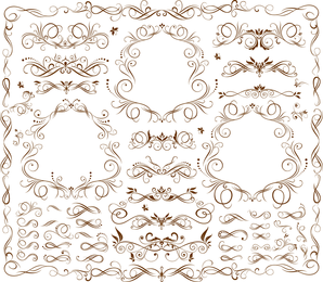 Fine Stripes Lace Vector