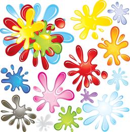 Color Pigments Vector