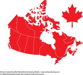 Vector Dia do Canadá