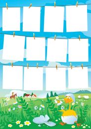 Paper Series Vector
