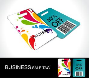 Discount Sales Tag Vector 2