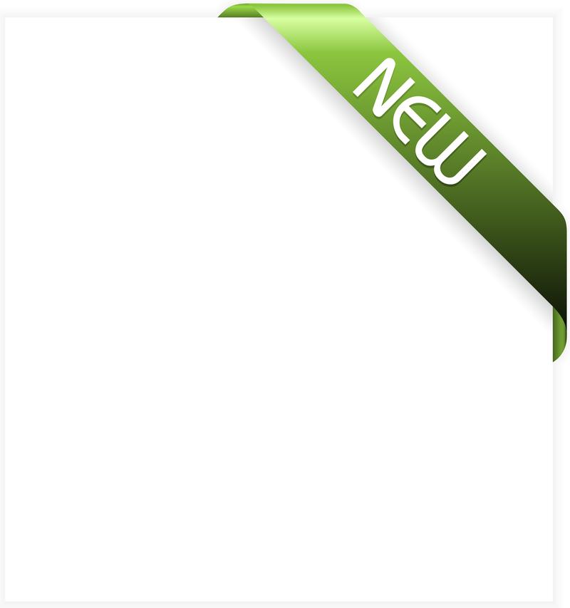 Green New Ribbon Vector - Vector download