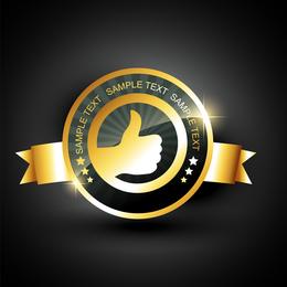 Medallas finas 02 Vector
